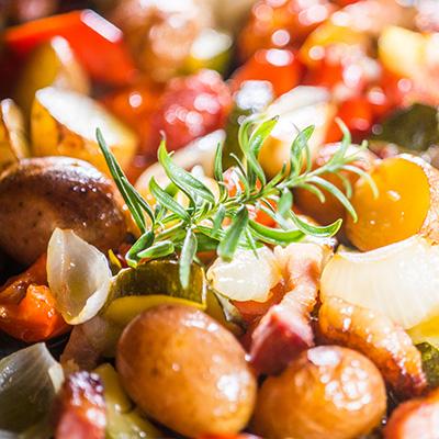 Tepsis zöldség télen-nyáron
