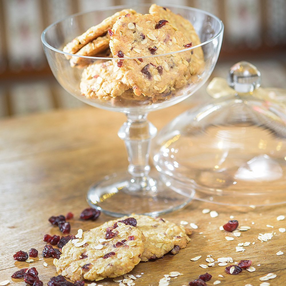 Red Currant & Oatmeal Cookies