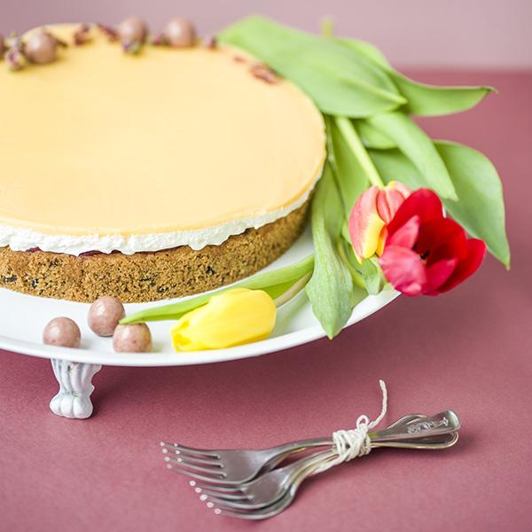 Tojáslikőrös torta (gluténmentes)