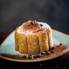 Juharszirupus-kávés tortácska