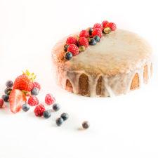 Tavaszi citromos-mákos torta