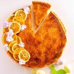 Tavaszi citromos tarte